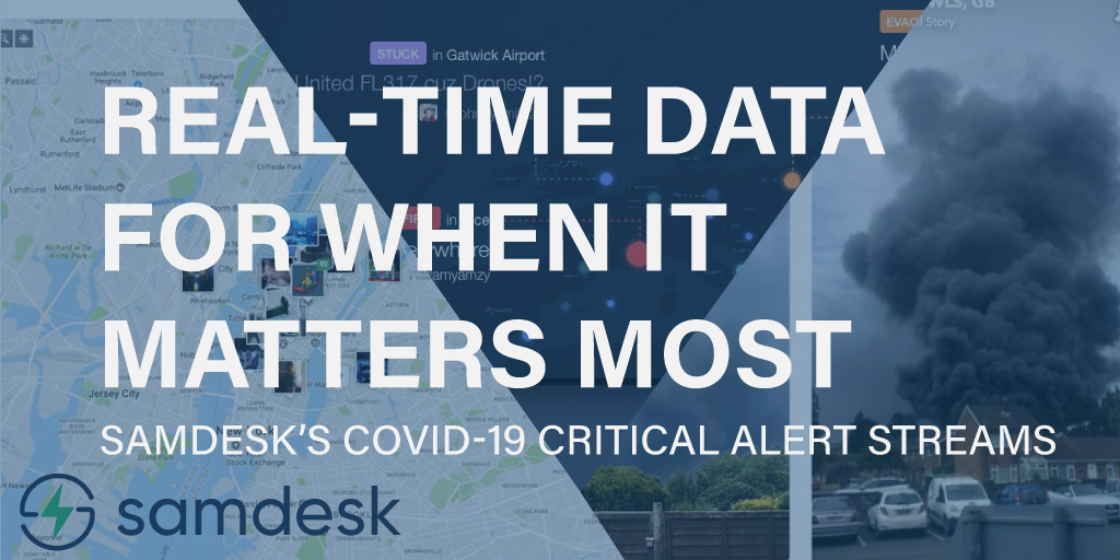 Real-Time Data for when it Matters Most